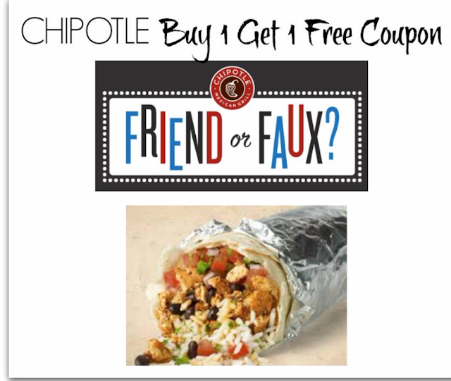 Time to save with a new bogo Chipotle Mexican Grill coupon! This deal is for a buy one, get one free deal on many of their popular meal items.