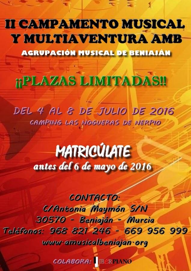 II Campamento Musical y Multiaventura AMB
