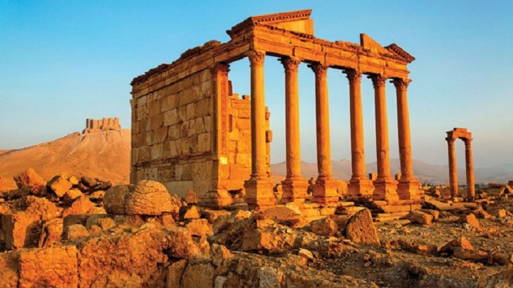 Near East: ISIS spares Palmyra's stunning ruins - for now