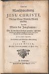 Von der Menschwerdung Jesu Christi (1682,in German)