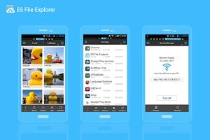 Screenshot of ES File Explorer File Manager