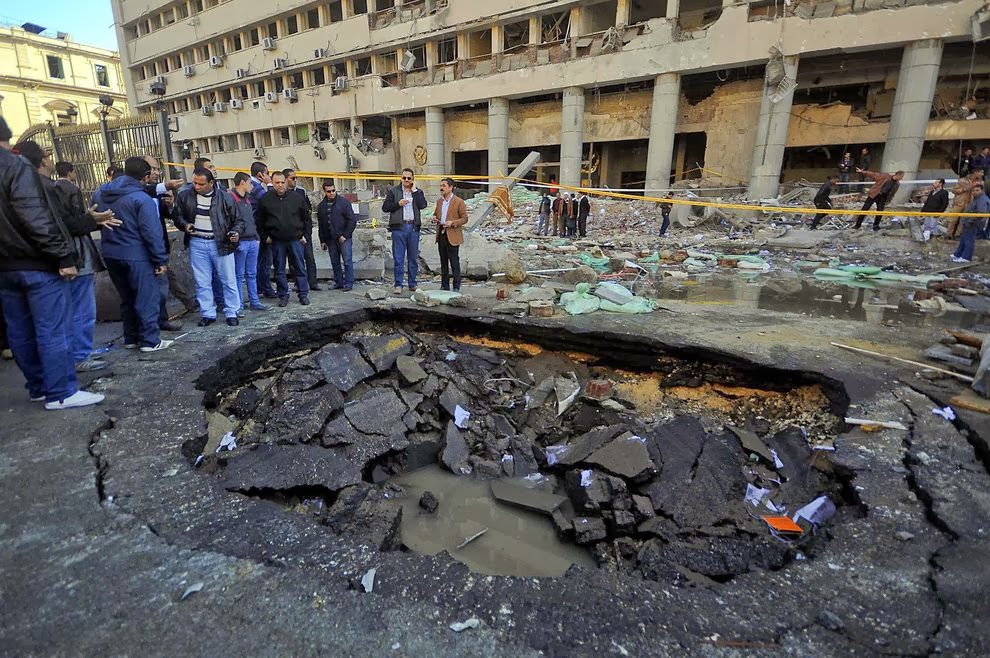 Cairo bombing damages historical monuments