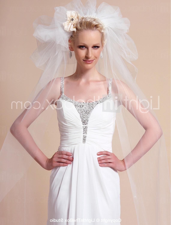 Two-tier Waltz Wedding Veils