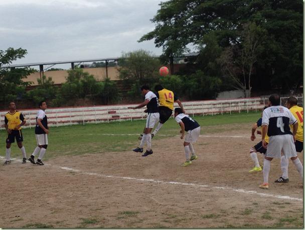 Deportivo Covivesa contra Sporting-Semifinal de Veteranos (2)