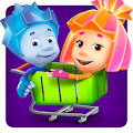 Fiksiki Supermarket Shopping Games for Kids APK for Bluestacks
