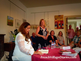 French Village Diaries Charroux Literary Festival 2015 Diana Morgan-Hill