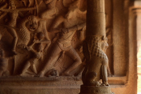 мамаллапурам камень храм руины