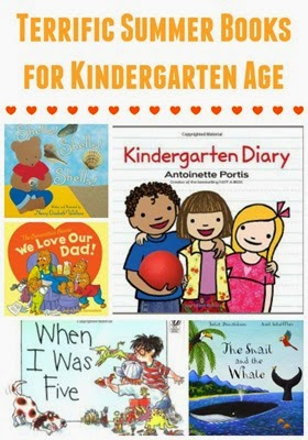 Summer books and summer projects for kindergarten age