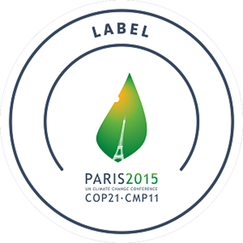 The logo for the 2015 COP21 climate conference in Paris. Graphic: Sustainable Innovation Forum