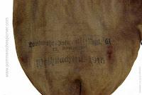 """Stamp of """"Landwehr-Infanterie Regt. 61, 12 Kompagnie, Weihnachten 1915"""""""