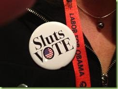 sluts and labor vote