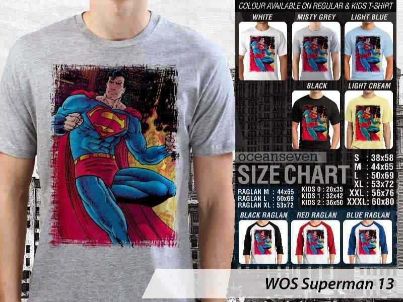 KAOS superman 13 Movie Series distro ocean seven