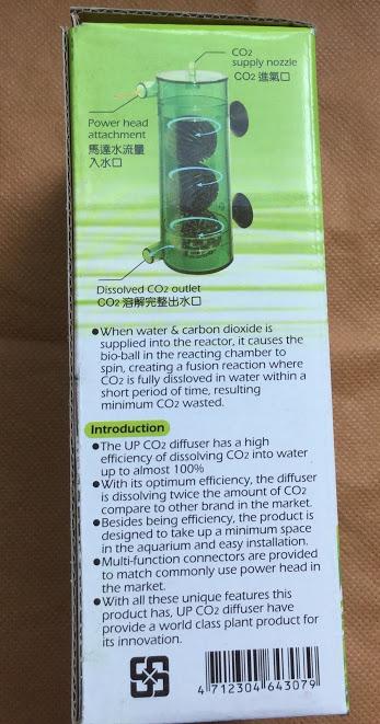 hướng dẫn sử dụng bộ trộn CO2 3 banh Up Aqua cho hồ thủy sinh
