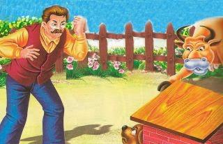 El caballo el buey el perro y el hombre fabulas larga