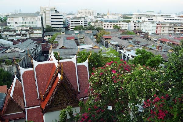 бангкок панорама вид с золотой горы