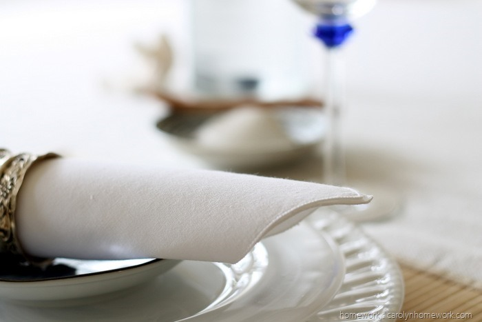 Summer Coastal Table Setting Faultless Starch by homework (11)