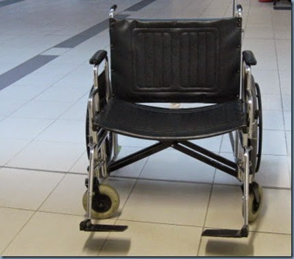 The extra wide wheelchair