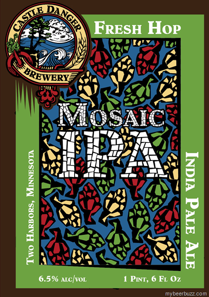 Image result for castle danger mosaic fresh hop