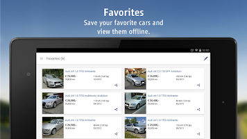 Screenshot of AutoScout24 - used car finder