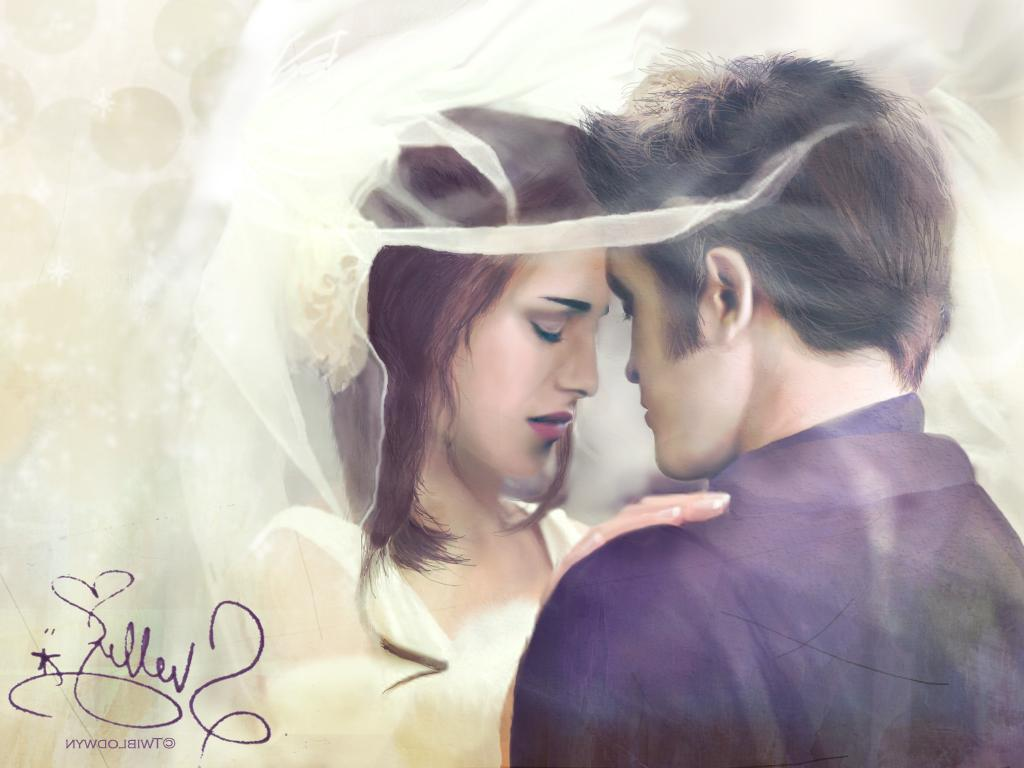 Edward and Bella Wedding by Twiblodwyn
