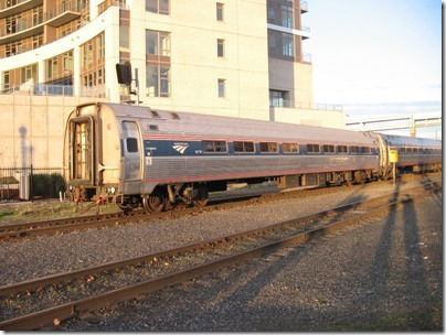 IMG_4476 Amtrak Amfleet I Coach #82710 at Union Station in Portland, Oregon on November 27, 2008