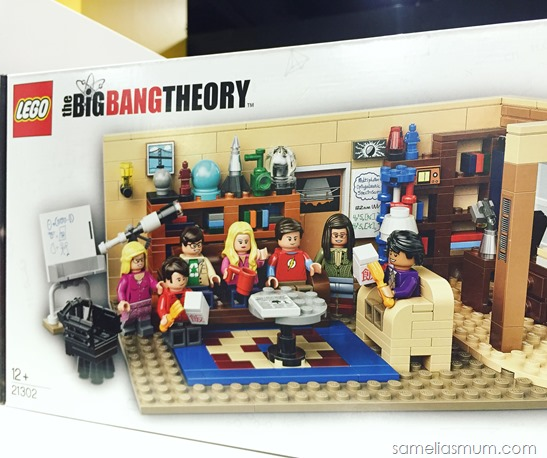 Big Bang Theory Lego