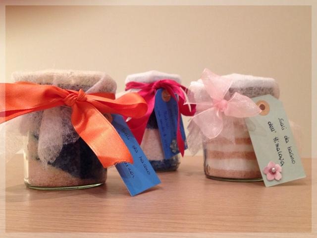 Sali da bagno fatti in casa come regalo :) ~ I Cosmetici della Patty