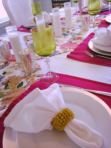 Springtime tablescape, spring, thestylesisters