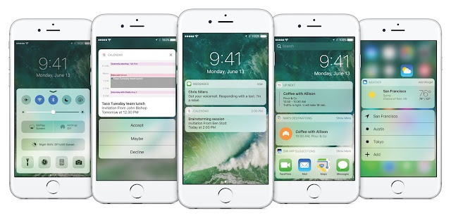iOS 10 iPhone features
