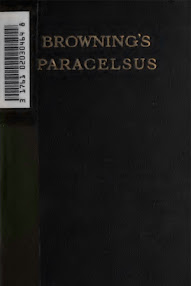 Cover of Robert Browning's Book Browning's Paracelsus