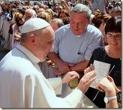 Papst Franziskus und mein Buch