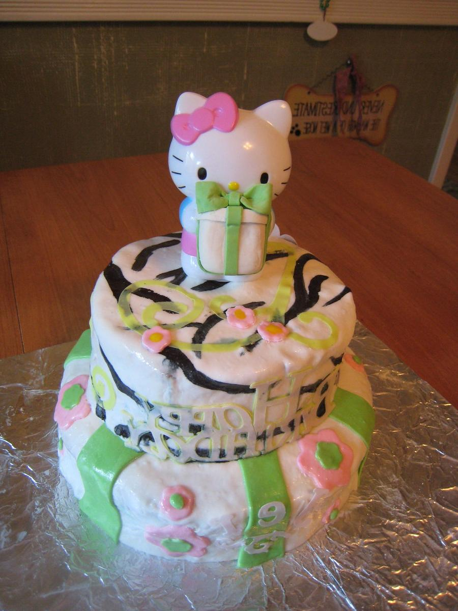 Hello Kitty Cake by