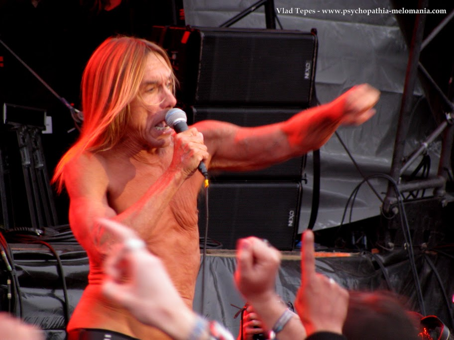 Iggy Pop & The Stooges @ Hellfest 2011 - Vendredi 17/06/2011