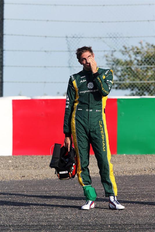 Виталий Петров фэйспалмит в пятницу на Гран-при Японии 2012