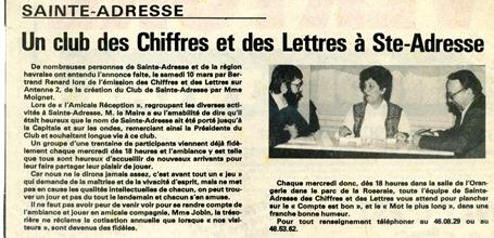 Ste-Adresse 11.1983