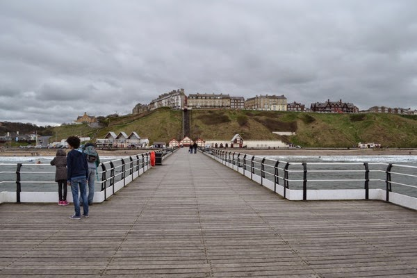 View of town from pier