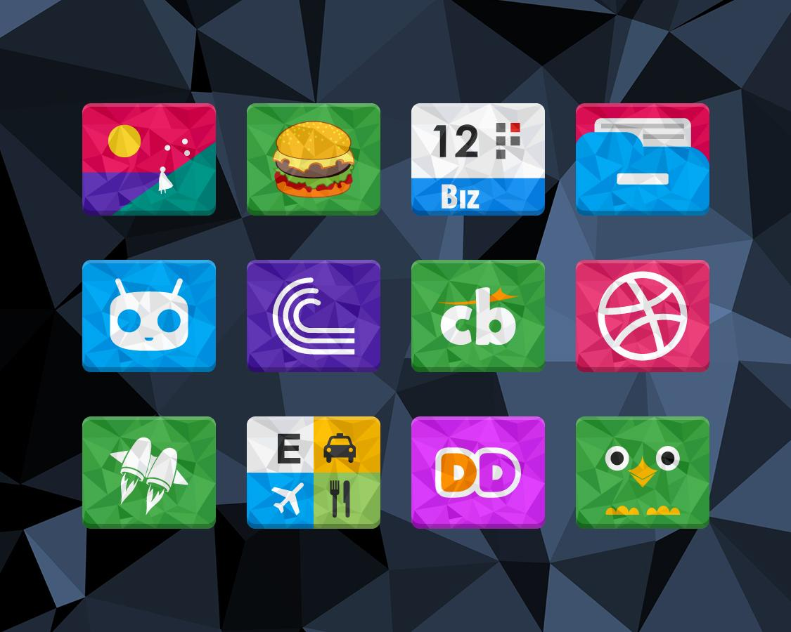 Rectron Icon Pack Theme Screenshot 5