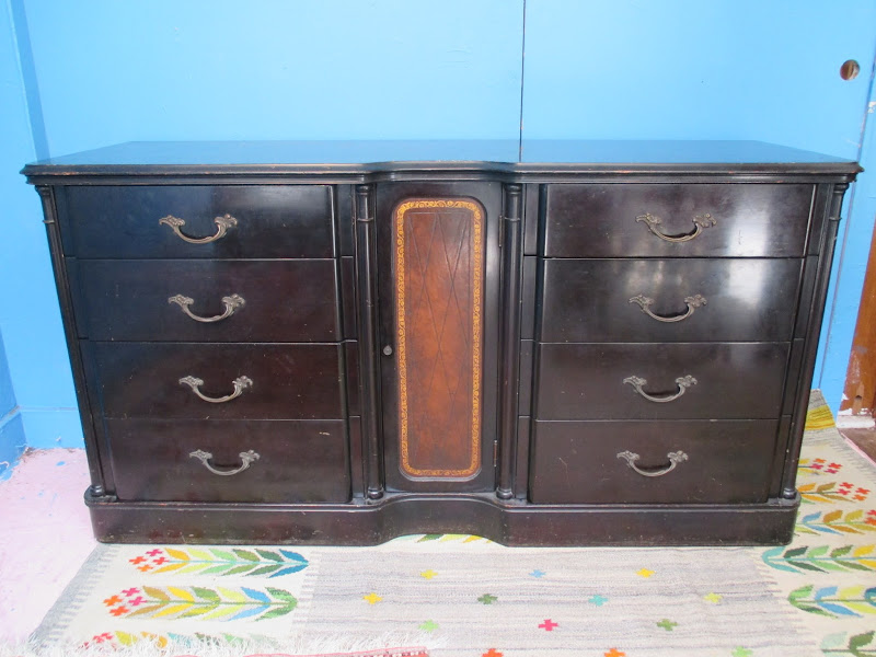 Leather Front Buffet