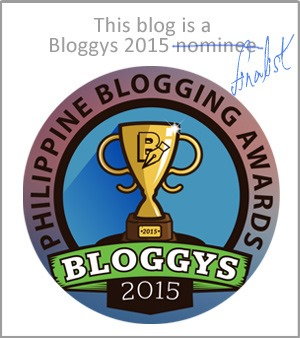 Bloggys finalist
