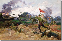 Fedor Ivanovich Deryazhnyi - Fascists are on the Run