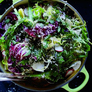Chicory Salad with Anchovy Dressing