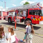 5de leerjaar bezoekt de brandweer