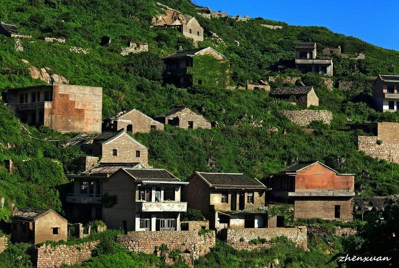 C'est de toute beauté : sites et lieux magnifiques de notre monde.  Gouqi-island-abandoned-village-2%25255B9%25255D