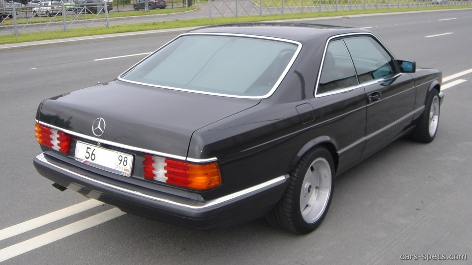 1990 mercedes benz 560 class coupe specifications for Mercedes benz 1990