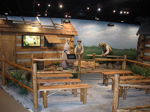 Mormon settlements and