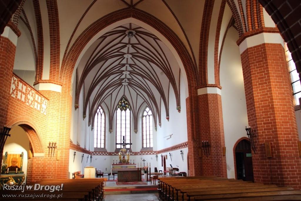 Wnętrza Kościoła pw św. Maksymiliana Kolbe