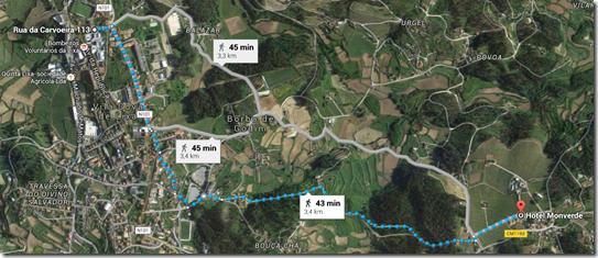 Percurso - ESL - Monverde