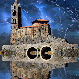 Le Puy en Velay by Gérard CHATENET - Digital Art Places