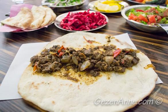 ciğer kavurması, Köşk Kebap Gaziantep