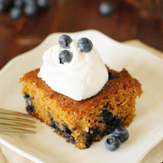 Blueberry Gingerbread Recipes